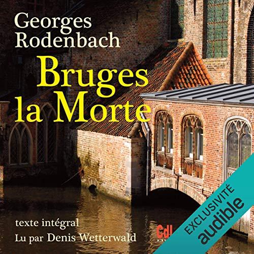 Diseño de la portada del título Bruges la morte