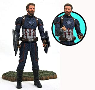 DIAMOND SELECT TOYS Marvel Avengers Infinity War Captain America Action Figure