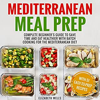 Mediterranean Meal Prep audiobook cover art