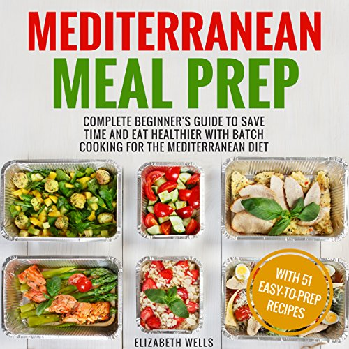 Mediterranean Meal Prep audiobook cover art