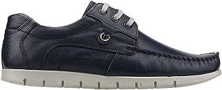 Ayakland Derimas 2051 Günlük%100 Deri Erkek Klasik Ayakkabı LACİVERT