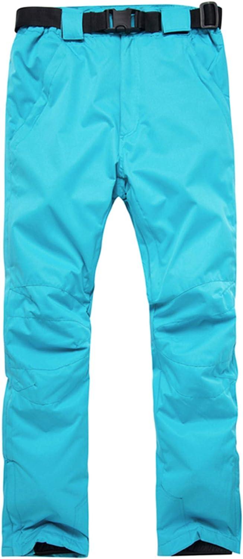 PENER Women's Outdoor Thick Warm Windproof Waterproof Ski Snowboard Pants Mountain Rain Trousers