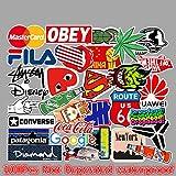BLOUR Autocollants et décalcomanies de Voiture Marée Marque Logo Décoratif Graffiti Moto Autocollant Papeterie Mignon Autocollants 100 pcs