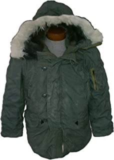 USA Military New Made in ECW Extreme Cold Weather N-3B Snorkel Parka Army Jacket GI L (Large)