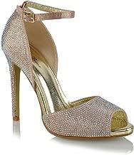 Best diamante high heels Reviews