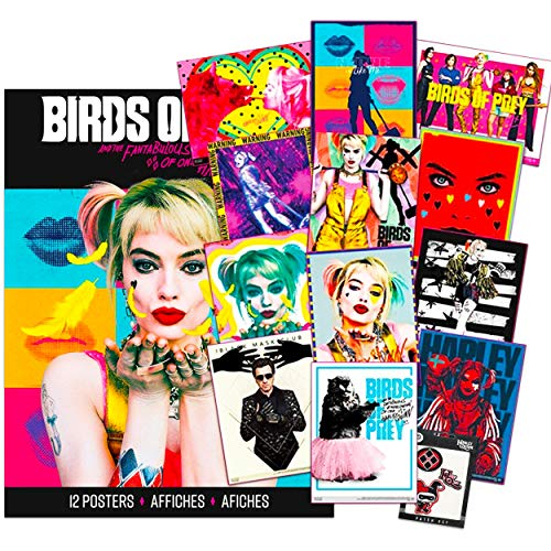 61aMPDlhPCL Harley Quinn Birds of Prey Posters