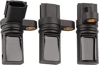 Camshaft Crankshaft Position Sensor Set, Angled Plug Cam Crank Sensor Replace 23731-6J90B 23731-AL61A 23731-AL60A 23731-AL60C for Infiniti FX35 G35 I35 M35, Nissan 350Z Altima Maxima Murano Pathfinder