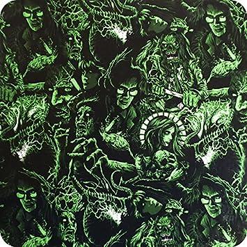 Wassertransferdruck Wtd Wassertransferdruck Folie Hydrographics Watertransferprinting Hlc 102 2 Zombies Und Drachen Auf Schwarzem Und GrÜnem Hintergrund Baumarkt