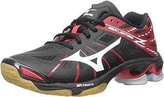 Women's Wave Lightning Z WOMS BK-RD Volleyball Shoe