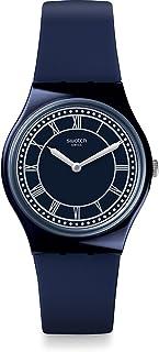Swatch Originals Blue Ben Blue Dial Silicone Strap Unisex Watch GN254