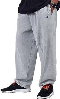 Champion Big & Tall Men`s Jersey Pants with Elastic Bottom