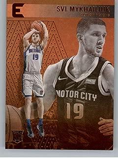 2018-19 Panini Essentials Bronze #221 Svi Mykhailiuk Detroit Pistons Rookie Basketball Card