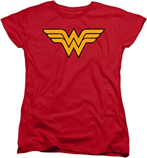 Popfunk Wonder Woman Logo Women's T Shirt & Stickers