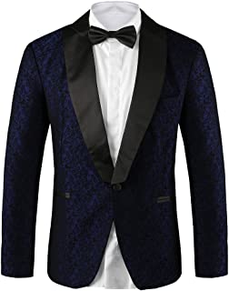 Hanayome Mens Designer Slim Fit & Notch Lapel Wedding Party Tuxedo Blazers SI6