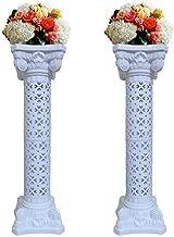 Elegant Wedding Roman Column Set Pillars Decoration Party Flower Pot Columns Decor Roman Columns for Weddings(1 Pair)