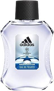 Adidas UEFA Champions League Arena Edition Eau de Toilette Spray for Men, 3.4 Ounce