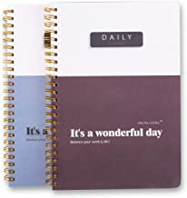 A5 Daily to-Do Planner Notepad - Premium Personal Planner Organizer, Home and Office Work Journal, 100 Pages for Daily Tas...