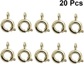 Or Homyl Crochets de Bijoux en Argent Sterling Fermoirs pour Collier Bracelet Bricolage
