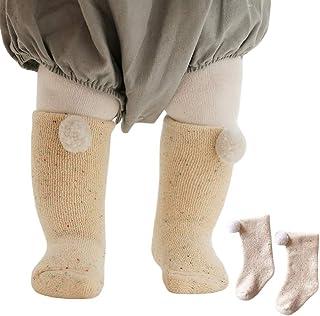 Bigood Newborn Toddler Baby Non Skid Socks Kids Warm Cotton Sock
