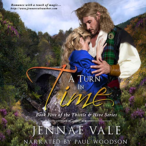A Turn in Time audiobook cover art
