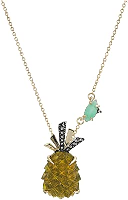 Alexis Bittar - Pineapple Pendant Necklace