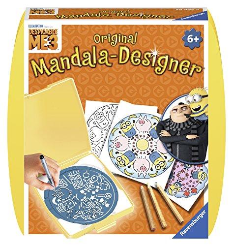 Ravensburger 29995 - Mandala Designer Mini - Minions