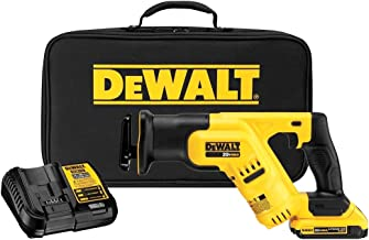 DEWALT DCS387D1R 20V MAX Cordless Lithium-Ion Compact Reciprocating Saw Kit (Renewed)