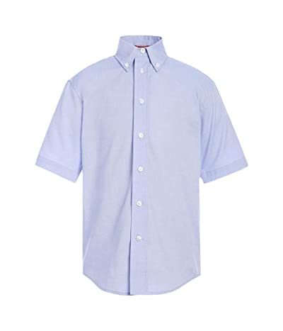 Tommy Hilfiger Short Sleeve Pinpoint Boys Oxford Shirt