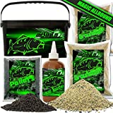 Angel-Berger Magic Baits Futterset mit Eimer Angelfutter Groundbait Liquid Pellets (Allround)