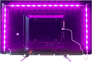 2M LED TV Backlight USB Bias Lighting with 16 Colors and 4 Dynamic Mode for 40 to 60 Inch HDTV,PC Monitor,Led Light Strip....