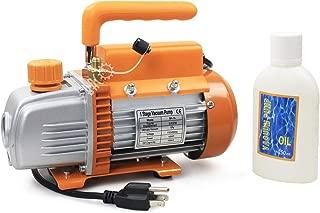 BACOENG Vacuum Pump Standard: 3.6 CFM Single Stage HVAC (Mini/Standard/Advanced/Premium Available)