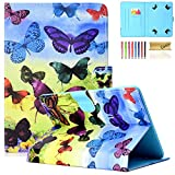 Casii 10.0 Inch Universal Case, Slim PU Leather Stand Cover