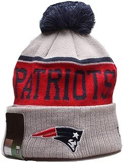 KATHLEEN 2019 New Fans Beanie hat Sideline Sport Knit hat Winter Pom Knit Hat Cap