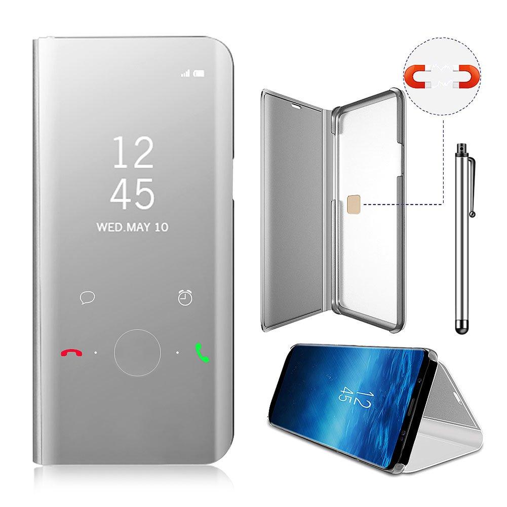 Funda Xiaomi Redmi 5 Plus / Redmi Note 5 Inteligente Case, Vandot Fecha / Hora Clear View Standing