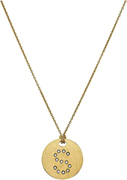Roberto Coin - Tiny Treasures 18K Yellow Gold Initial S Pendant Necklace