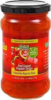 Bettina's Gourmet Red Sweet Pepper Strips, Jar, 290 gm