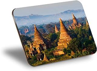 Destination Vinyl ltd Mantel individual de corcho 290 x 215 – Bagan Myanmar Pagan Kingdom Workplace/mantel de mesa/lavable...