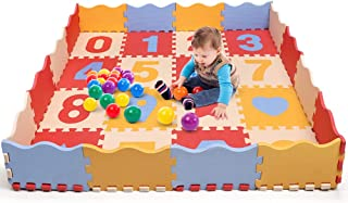Bammax Baby Puzzle Play Mat, Extra Thick (0.55