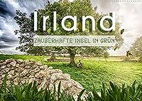 Irland - Zauberhafte Insel in gruen (Wandkalender 2022 DIN A2 quer): Eine Reise durch das zauberhafte Irland (Monatskalender, 14 Seiten )