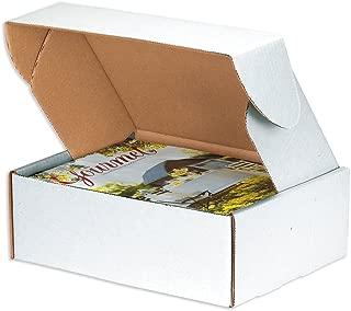 white tab locking literature mailers