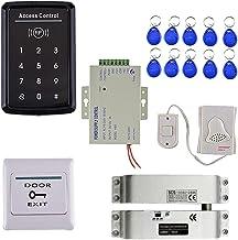 Blesiya Metal Touch RFID-kaart + Psssword-toegangscontrolekit voor Deuren + Elektrisch Slot