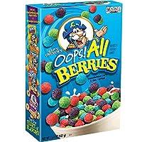 Cap'N Crunch's Oops All Berries Breakfast Cereal 15.4 Ounce [並行輸入品]