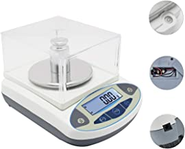 CGOLDENWALL High Precision Lab Scale Digital Analytical Electronic Balance Laboratory Lab Precision Scale Jewelry Scales Kitchen Precision Weighing Electronic Scales 0.01g (500g, 0.01g)