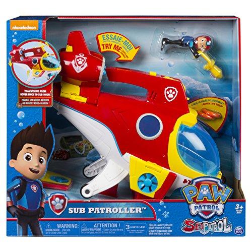 Paw Patrol Sub Patroller 6040054 Vehículo de...