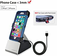 Avantree Charger Stand with Apple Mfi Lightning Cable, USB Sync & Charger Dock Docking Station Cradle Compatible with iPhone X, iPhone 8, 7, 7 Plus, 6 [2 Year Warranty]