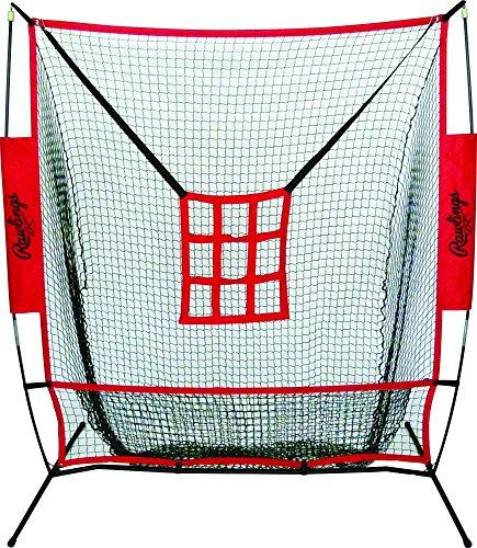 RAWLINGS Baseball Training Aids Batting Cages & Netting Entrenamiento de béisbol Ayuda a Las jaulas de bateo y Red, Unisex, Multicolor, Talla única