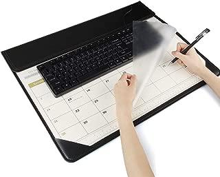 Wayrank Desk Calendar 2020 - October 2019 - December 2020, Large Mouse Mat Pad, 22.5