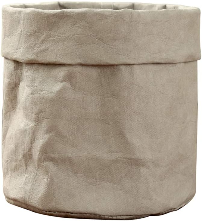 Limited price sale DIYARTS Multifunction Kraft Paper Beauty products Storage Desktop Bag Washable P
