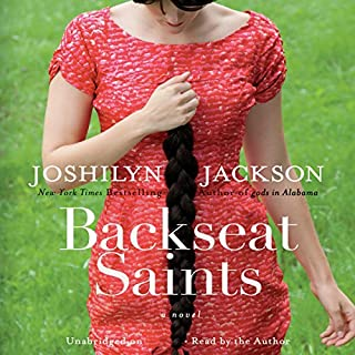 Backseat Saints audiobook cover art