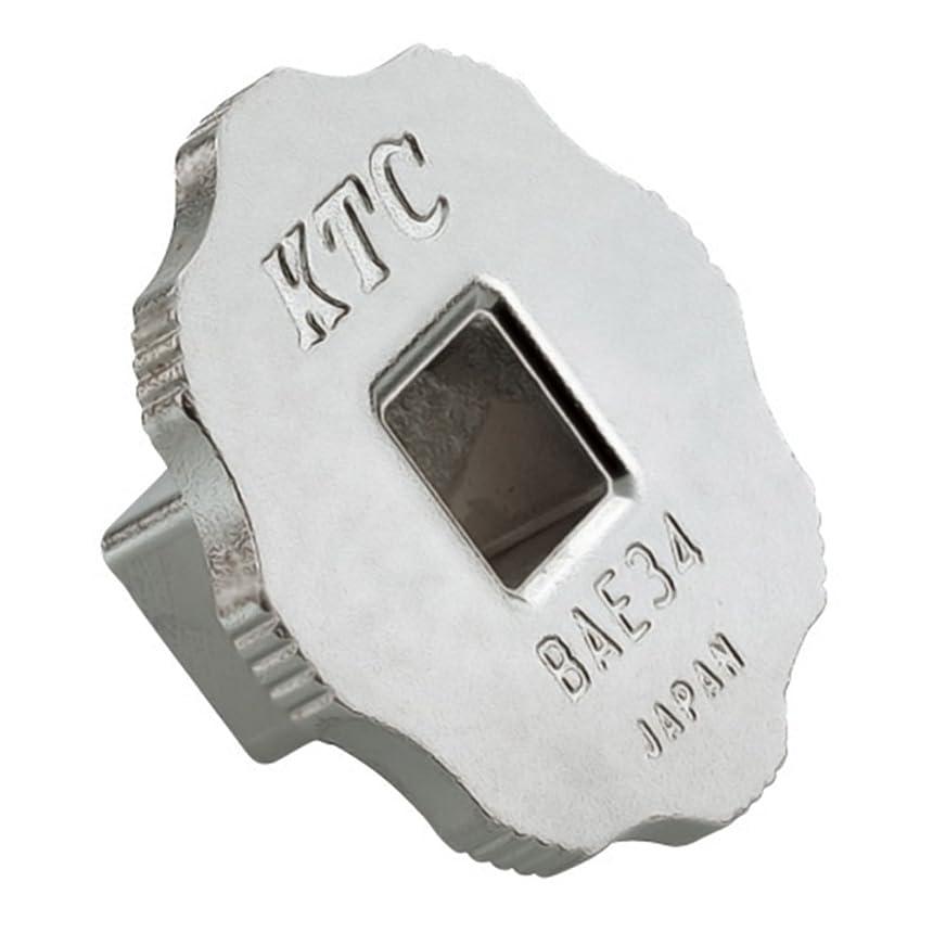 公式医薬品彼ら京都機械工具(KTC) 早廻し変換アダプター BAE34 全長:17mm